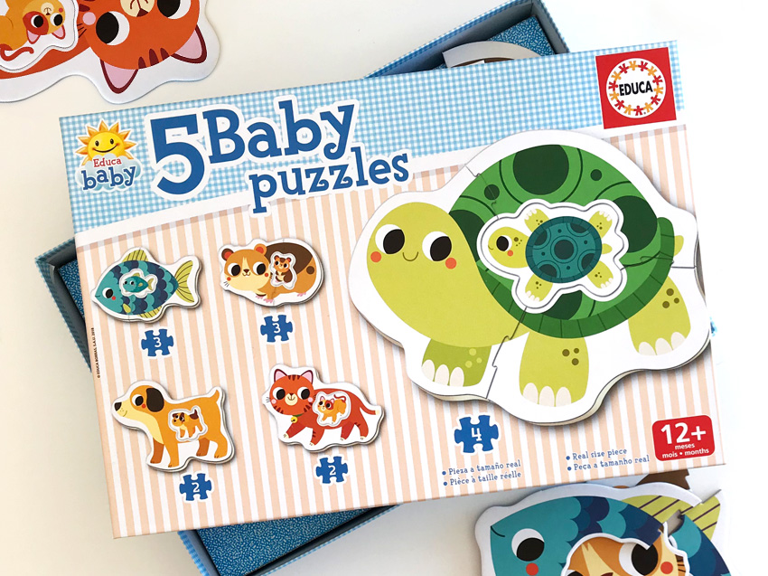 Baby puzzle – Mascotas